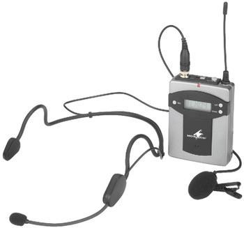 TXA-800HSE 16 Channel PLL Transmitter With Tie clip & Headset Microphone