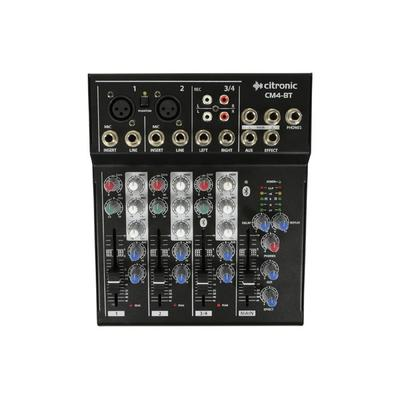 Citronic CM4-BT Compact Mixer With Bluetooth