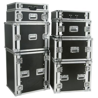Flight cases For 19´´ Disco Equipment Various Sizes