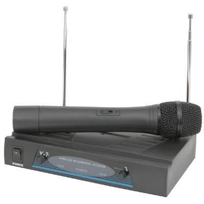 QTX VHF Wireless Hand Held Microphone with Case