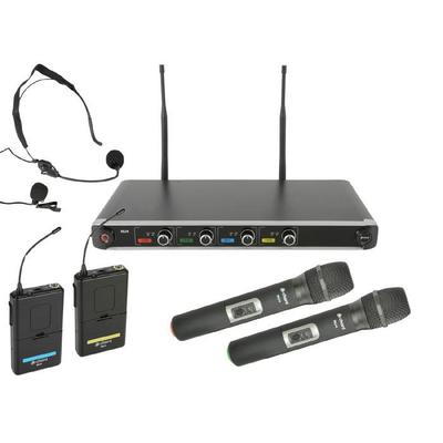 Chord NU4 Quad UHF Wireless Microphone System