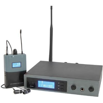 16-Channel UHF In-Ear Monitoring System 2012 Compliant