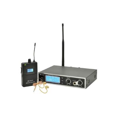 16-channel PLL UHF Stereo In-Ear Monitoring System