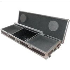 Flight Case for Mixer and 2 CD Players/Turntables Various Sizes