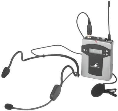 TXA-800HSE Wireless Pocket Transmitter with Headset and Tie-Clip Mics