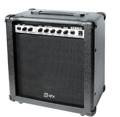 35W Guitar Amplifier With Reverb Feature