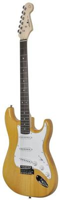 Amber Gloss Electric Guitar