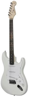 Arctic White Gloss Electric Guitar