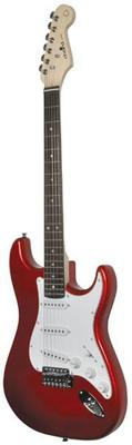 Metallic Red Gloss Electric Guitar
