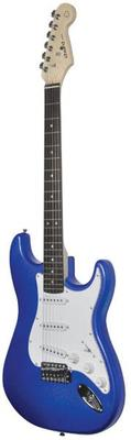 Metalic Blue Gloss Electric Guitar