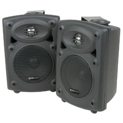 Pair Of Amplified Stereo Speaker System