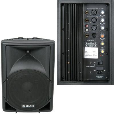 Active Moulded Speaker Cabinet - 12'' 500W RMS