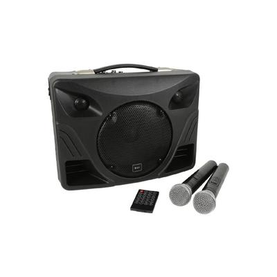 QTX Portable Desktop PA With Bluetooth & Two Microphones