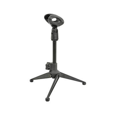 Desktop Microphone Stand with Foldable Legs