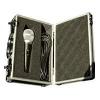 Dynamic Microphone With Aluminium Flightcase