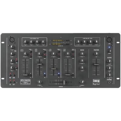 IMG Stageline MPX-204E/SW Stereo DJ Mixer with Digital Echo