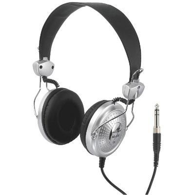 MD-350 Stereo Headphone 3m helix cable with single-sided cable inlet