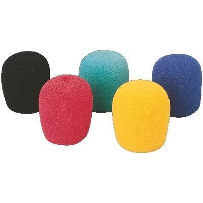 WS-5 Set of Microphone Windshields in 5 Colours
