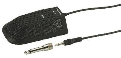 ECM-304BD Black Switchable Boundary Microphone