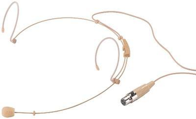 HSE-152/SK Ultralight Skin-Coloured Headband Electret Cardioid Microphone