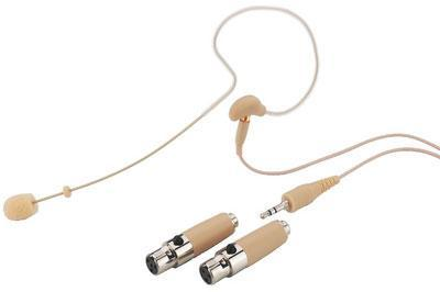 HSE-70A/SK Universal Omnidirectional Earband Microphone Skin Coloured