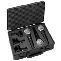 DM-3SET Dynamic Microphone Set