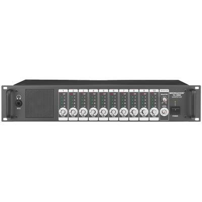 PA1200M Monitor Unit With 10 Monitor Channels & 1 AUX