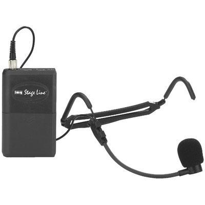 IMG Stageline TXS-820SX Headband Microphone Transmitter