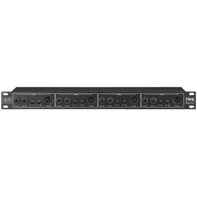IMG Stageline DIB-106 4-Channel Rackmount DI Box