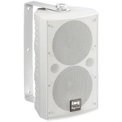 IMG Stageline PAB-506/WS Wall Mount PA Speaker 100W 4 Ohm