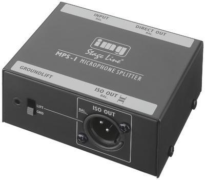 IMG Stageline MPS-1 Microphone Splitter