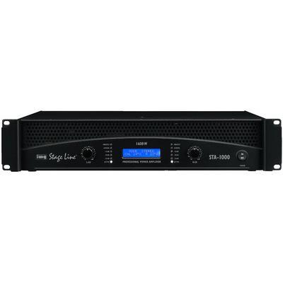 STA-1000 Professional Stereo PA Power Amplifier 1600W Max