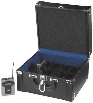 TXA-12C Carry Case with Built in Charger for up to 12 TXA-800 Units