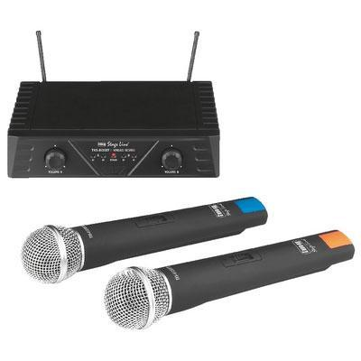 IMG Stageline TXS-812SET Wireless 2-Channel Microphone System
