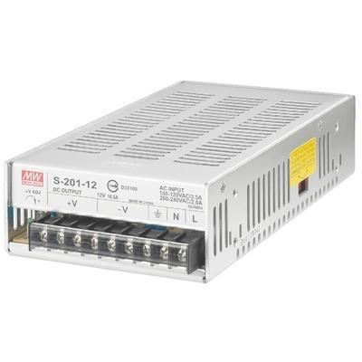 PS-200/12 LED Strip Lighting Power Supply 12V 16.5A