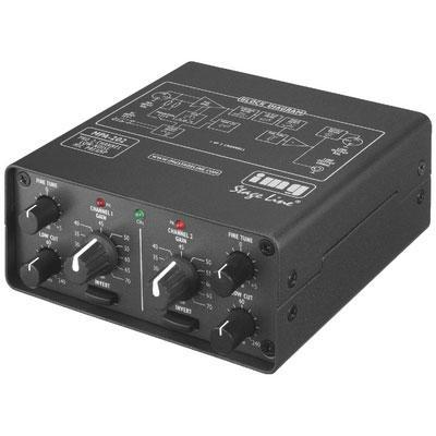 2-Channel Low-Noise Microphone Preamplifier