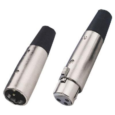 XLR Connector, 3 Pole 7mm