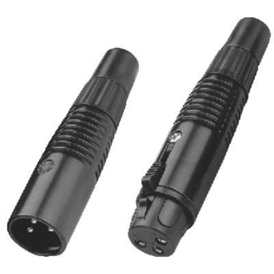 XLR Connector, 3 pole 3.5-6mm