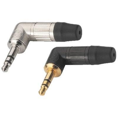 Neutrik 3.5mm Plugs, Stereo Right Angle