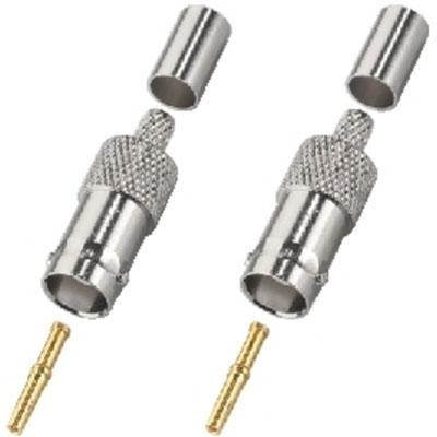BNC Crimp Female 75 ohm