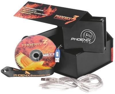 Phoenix-Live Show Laser Control Software including USB ILDA Interface