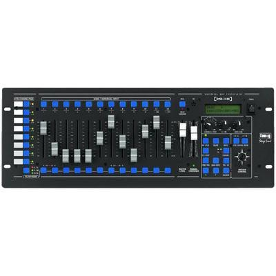 DMX-1440 IMG Stageline Lighting Controller 144 DMX Channels to 96 Control Channels