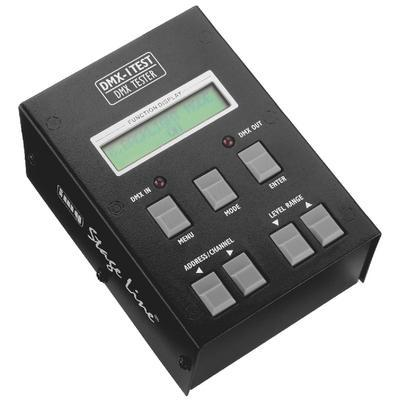 IMG Stageline DMX-1TEST 512-channel DMX Testing Unit