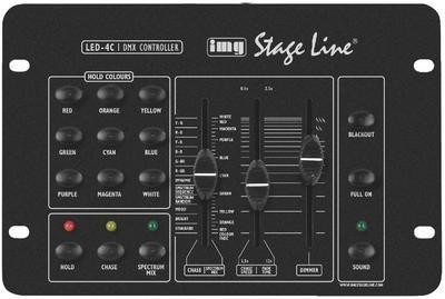 IMG Stageline LED-4C RGB LED Controller for PAR Cans and Spot Lights
