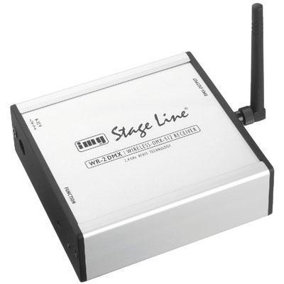 IMG Stageline WR-2DMX Wireless DMX Receiver 2.4GHz