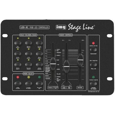 IMG Stageline LED-8C RGB LED Controller for PAR Cans