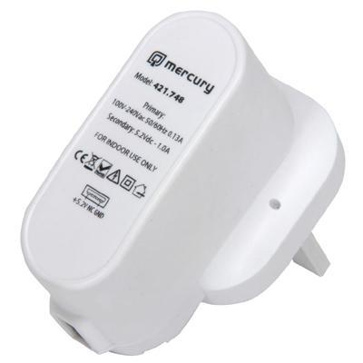 Energy Efficient UK USB Charger 1000mA