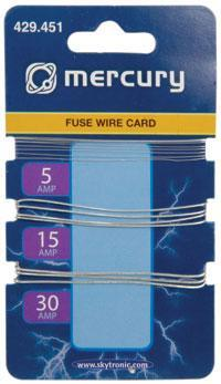 5/15/30A Fusewire Card