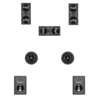 Monitor Audio 5.1.2 Ceiling Speaker Pack ATMOS Ready
