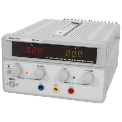 Regulated Power Supply With Variable Output 0-30V / 0-10A